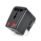 Universal Travel USB AC Power Adapter w/ UK / US Plugs