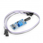 Tilt Sensor Switch Module w/ DuPont Cables for Arduino (Works with Official Arduino Boards)