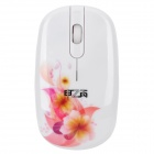 2.4GHz Wireless Optical Mouse with USB Receiver - White (1 x AA)