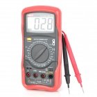 "UNI-T UT55 2.8"" LCD Digital Multimeter - Red + Grey (1 x 9V)"