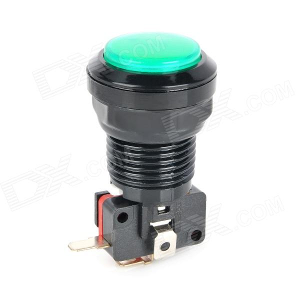 все цены на Plastic Power Control Push Button Switch for Electric DIY - Black + Green онлайн