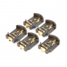 Battery Holder for CR2032 Coin Cell - Brown (5 PCS)