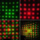 Flower Style 30mW Green + 80mW Red Laser Stage Lighting Projector w/ Tripod - Blue (AC 100~240V)