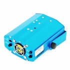 Windmill Style 30mW Green + 80mW Red Laser Stage Lighting Projector w/ Tripod - Blue (AC 100~240V)