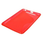 Protective TPU Back Case for Google Nexus 7 - Red