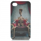 Cool Skeleton Pattern Protective Plastic Back Case for Iphone 4 / 4S