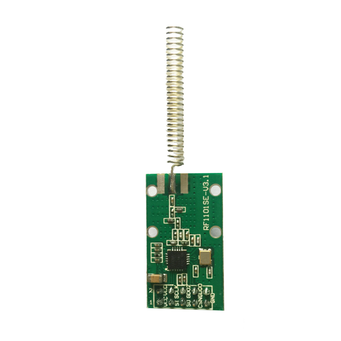 433MHz Wireless RF Transceiver Module w/ Spring Antenna freeshipping rs232 to zigbee wireless module 1 6km cc2530 chip