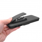 Protective PC Back Case with Mount Holder for Iphone 5 - Black