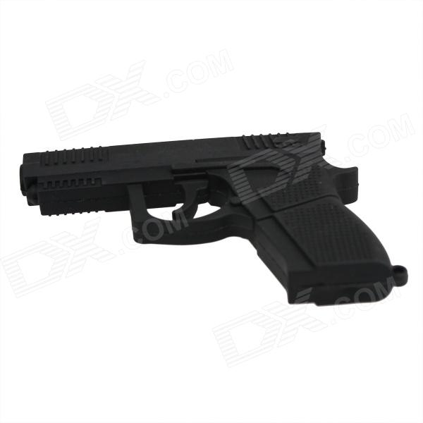 Cool Pistol Style USB 2.0 Flash Drive - Black (16GB) usb flash drive 16gb smartbuy x cut sky sb16gbxc sb