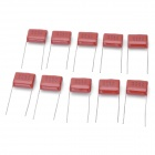 M-CAP 474 0.47uF 400V Metal Film Capacitors - Dark Red (10 PCS)