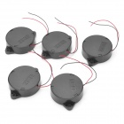 QSR-4410B Active Buzzers - Black (DC 12V / 5 PCS)