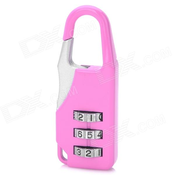 CJSJ CR-07A Mini Alloy Password Code Lock - Pink