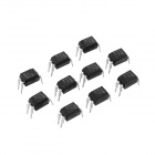 PC817 Optocoupler ICs - Black (10 PCS)