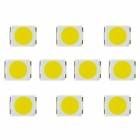 3000MCD 7000K SMD 3528 White Light LEDs - White + Yellow (10 PCS)