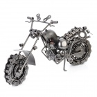 Creative Craft Iron Motorcycle Modell - Schwarz