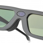 aps-1 Rechargeable Projector LCD Active Shutter 3D Glasses - Black