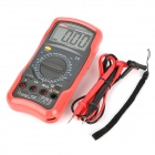 UNI-T UT52 2.8'' LCD Digital Multimeter - Red + Grey (1 x 9V)