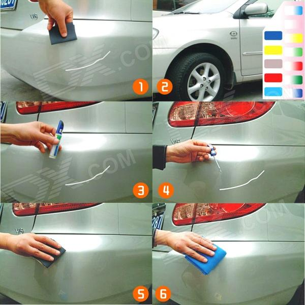 Fad 4 Car Touch Up Paint Pen For Audi Silver Worldwide