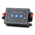 LED Single Color Light Strip Button Controller - Black