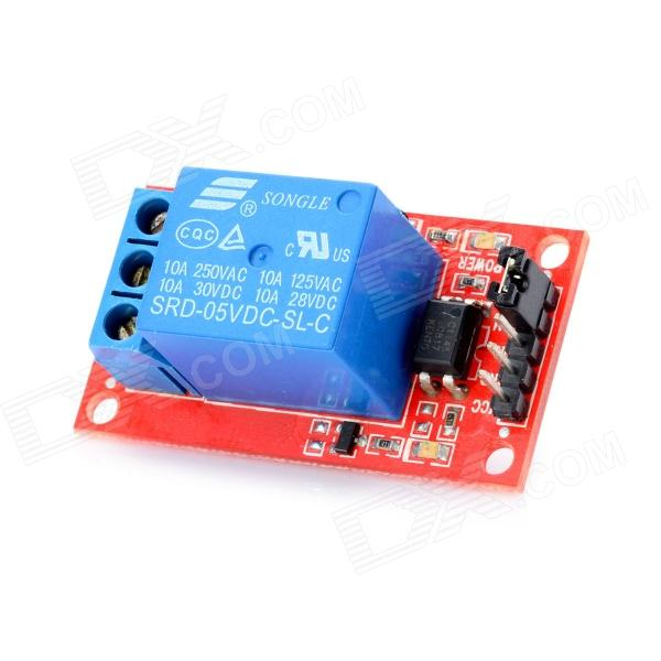 One Channel 5V Relay Module for Arduino (Works with Official Arduino Boards) 4 channel 12v low level trigger relay module for arduino works with official arduino boards