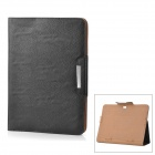 KALAIDENG Protective PU Leather Case for Samsung Galaxy Note 10.1 N8000 - Black