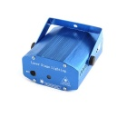 Mini 30mW 532nm Green + 80mW 650 Red Laser Stage Lighting Projector w/ Tripod - Blue (AC 100~240V)