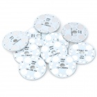 MR16 4W Aluminum Base - Silver (10 PCS)