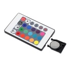Voice Controlled LED RGB Light Strip Controller - Black