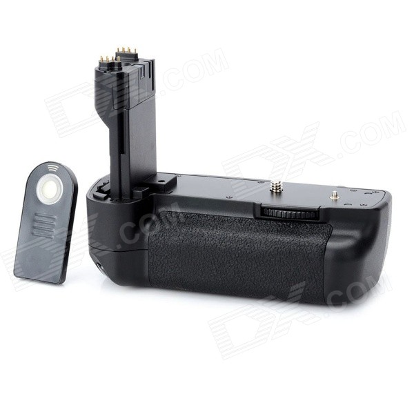 BG-E6 Replacement Battery Grip w/ IR Remote Controller for Canon 5D MARK II