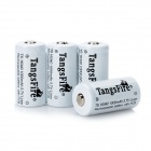 "TangsFire Rechargeable ""1000mAh"" 16340 Lithium Batteries Pack - White (4PCS)"