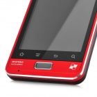 "CY003 Android 2.3 GSM Bar Phone w/ 3.5"" Capacitive Screen, Quad-Band, Wi-Fi and Dual-SIM - Red"