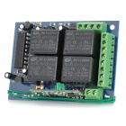 NT-K04M Wireless Remote Controller Switch Module - Black + Blue + Green (DC 12V)