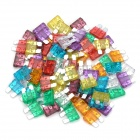 3~40A Zinc Plug Type Blade Fuses Assortment Kits - Multicolored (8 x 10 PCS)