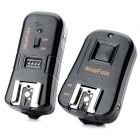 NiceFoto C-16 3-in-1 Wireless Remote Trigger w/ Wake-up Function for Canon DSLR - Black