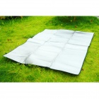 Outdoor Moisture-Proof Picnic Blanket Camping Mat Pad - Silver (190 x 144cm)