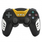 Rechargeable Bluetooth Wireless DualShock III Gaming Controller for PS3 - Black + Golden