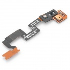 Replacement Power Switch Microphone Flex Cable Ribbon for HTC One X - Black