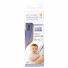 "Mini 0.7"" Screen Water Resistant Digital Body Thermometer - Purple (1 x LR41)"