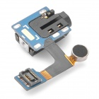 Repair Part Replacement Earphone Audio Jack Flex Cable for Samsung P3100 - Black + Blue