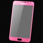 Replacement Front Outer Screen Glass Lens for Samsung i9220 / N7000 - Deep Pink