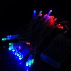 3W 30-LED Four Colors Decoration String Light for Wedding / Christmas / Fairy Party - Transparent