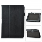 Protective PU Leather Case for Samsung Galaxy Note 10.1 GT-N8000 - Black