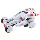 1:16 Wireless Remote Controller 2-Channel Transformer R/C Racing Car - White
