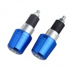 Motorcycle Non-slip Balance Keeping Cap / Handle Plug - Blue + Black (2 PCS)