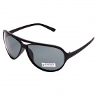 CARSHIRO Outdoor Sport Schutz Polarized Sunglasses - Black Frame