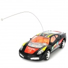 01.22 Wireless-Kunststoff 2-CH Remote Controlled R / C Racing Car - Schwarz (3 x AA)