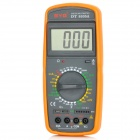 "SYG DT9205A 2.7"" LCD Digital Multimeter - Black + Orange (1 x 6F22)"