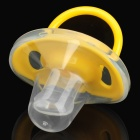IVORY C05 Thumb Form Baby-Silikon-Schnuller Nippel - Yellow + Transparent