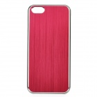 Fashion Protective Aluminum Alloy zurück Fall für iPhone 5 - Red