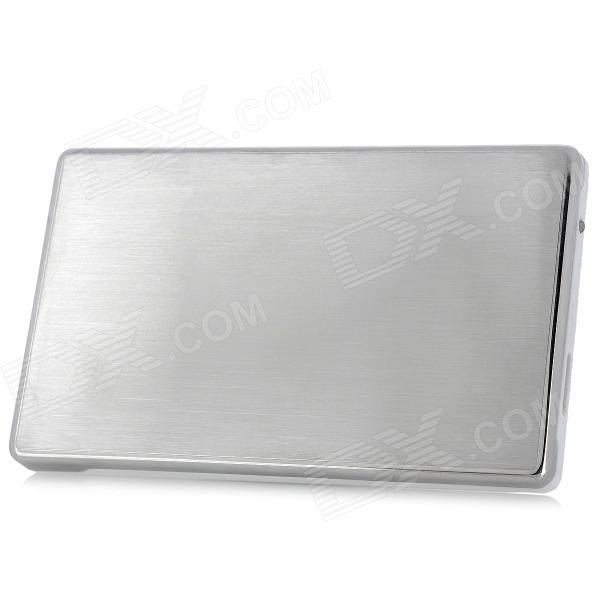 "2.5"" USB 3.0 External Mobile HDD Hard Disk Drive Storage Device - White + Silver (1TB)"